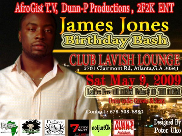 James Jones Birthday Bash