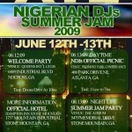 Naija DJs Summer Jam in Atlanta, GA | June 12th – 13th