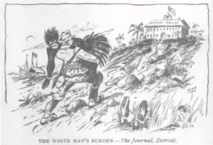 The white man's burden - The Journal, Detroit, 1923.