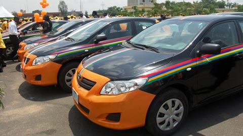 New Taxi Cabs soon to grace the streets of Lagos