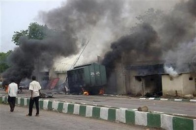 Maiduguri Prison set on fire by members of Boko Haram