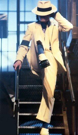 Michael Jackson in Smooth Criminal