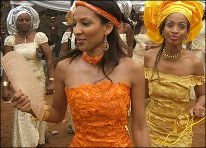 Traditional Igbo Bride Attire