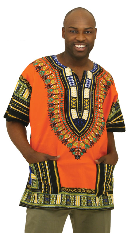 Casual half dashiki for men agbada aka one thousand five hundred