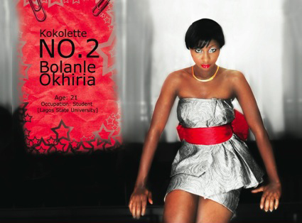 Bolanle Okhiria - Winner of Koko Mansion