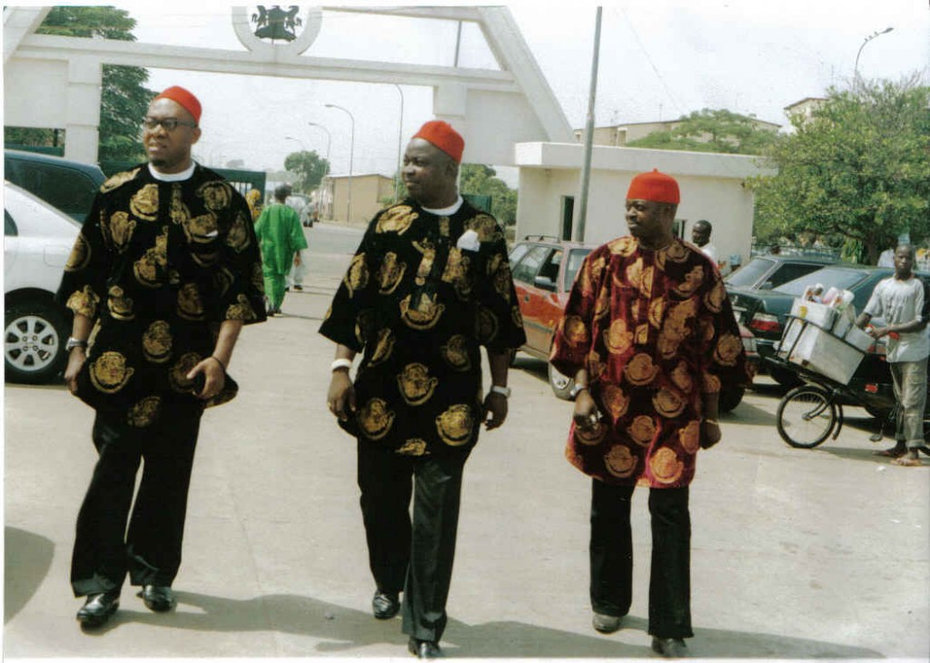 Isi Agu worn typically by Igbo Men