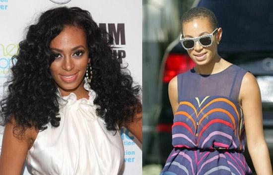 Solange rocking weave & going with low cut