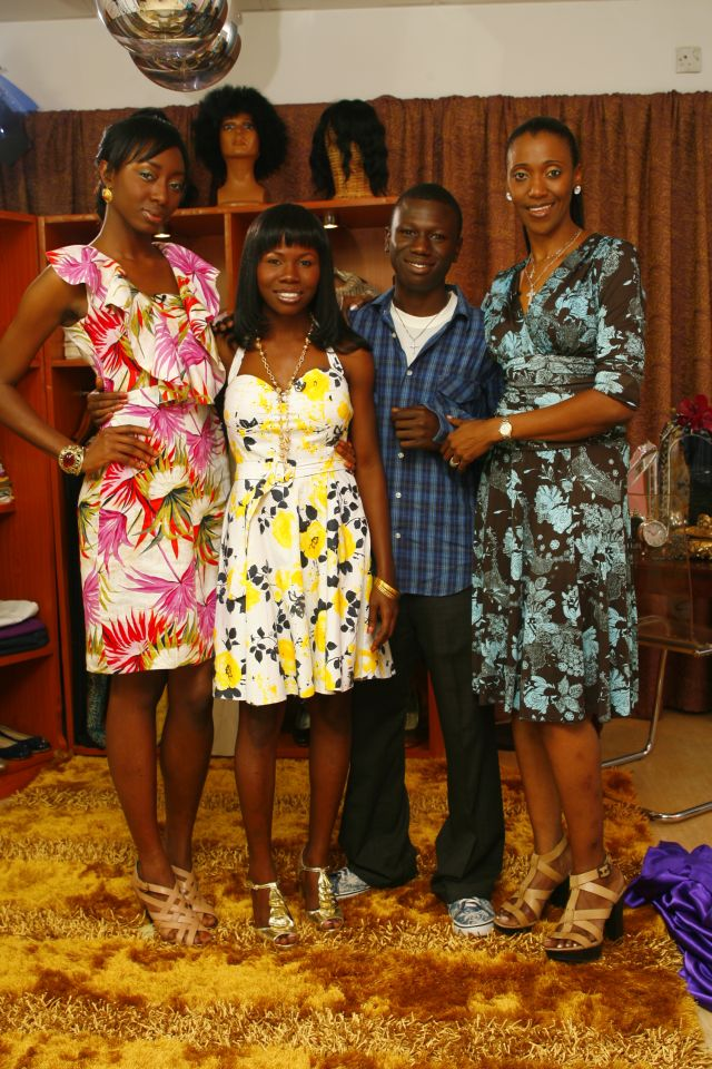 Style Subject Mabel, her brother Samuel with hosts Zainab and Isioma