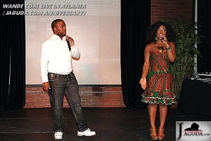 JAMES JONES OF AFROGIST TV AND NIKITA HOSTING