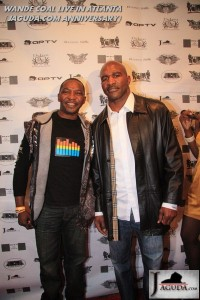 Heavy Wieght Boxer Evander Holyfield and Chris A