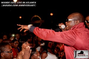 WANDE COAL PERFORMING LIVE