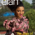 Omotola on the cover of Elan Mag (Mother's day Edition)