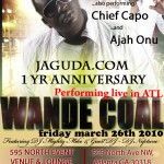 Wande Coal Live in Atlanta