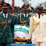 Yar'Adua Funeral Procession Out Of Abuja (Pics)