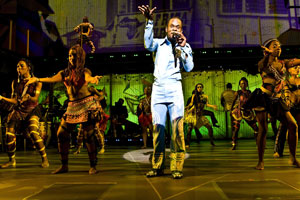 Sahr Ngaujah and company in Fela!