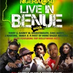 Terry G, Banky W, J-Martins, Basket Mouth & Omotola Storm Benue for Naija @ 50 Celebration