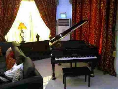 p square house in omole picture