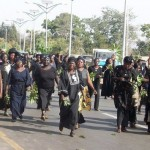 Thousands Of Women March Through Streets in Jos To Protest Killings