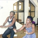 "Ini Edo To Star In Nollywood Dance Movie, ""I'll Take My Chances""… Dance Rehearsal Pictures"