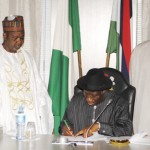 President Goodluck Jonathan Signs Nigeria's First Freedom Of Information Bill