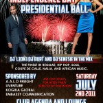 V.O.D ENTERTAINMENT PRESENTS THE PATRIOT: INDEPENDENCE DAY PRESIDENTIAL BALL