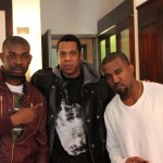 Photo Of Don Jazzy, Jay Z, and Kanye West