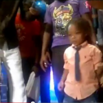 Peter Okoye's Son Dancing on stage at the Invasion Concert.