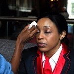 Rita Dominic In Kenyan Movie, Shattered… Behind The Scenes Pics