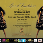 Fashion Lounge… A Fashion Networking Party | Lagos | August 25th, 2011