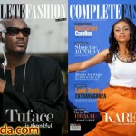 Karen Igho & 2face Idibia Cover The September Edition of Complete Fashion Magazine