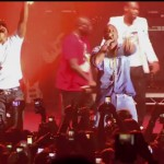 Video: Dbanj and Kanye West thrill at the KokoKoncert