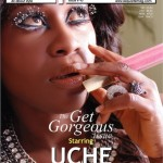 Uche Jumbo Covers October Issue Of Exquisite Magazine