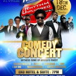 Rhythm Unplugged: Music & Comedy Concert | Lagos | Dec 18th, 2011