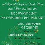 2nd Annual End of the Year Nigerian Youth Mixer & Celebration | New Jersey | Dec 30th, 2011