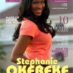 Nollywood Star Stephanie Okereke Covers Dec 2011 Edition Of Exquisite Magazine