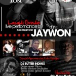 Jaywon Live In Concert | Feb 18th 2012, Houston | Feb 25th, Washington, DC