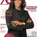 Executive Director of The Spain-US Chamber of Commerce Bisila Bokoko hits Zen Magazine February 2012 Cover