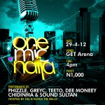 Sound Sultan, Teeto and Chidinma for One Mic Naija April
