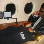 P-Square On A Private Jet P