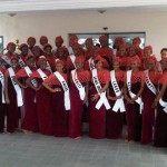 The MBGN 2012 Contestants Visit Oba Of Benin's Palace