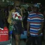 Video: Goldie Arrives Nigeria From Big Brother Africa
