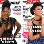 Susan Peters and Yvonne Nelson On The Cover Of Red Sheet Magazine