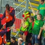 "Lithuanian Basketball Fan Arrested During Nigerian Basketball Game For Starting Racist ""Monkey Chants"""