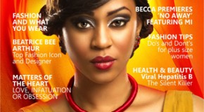 Munachi Abii Covers La Mode Magazine September Issue
