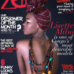 The Irresistible and Charming Lisette Mibo From Congo is Zen Magazine September 2012 Cover Girl