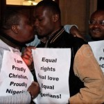 Photo: Nigerian Gay Couple Protest