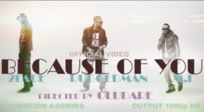 "VIDEO: RuggedMan – ""Because Of You"" Ft 2face & M.I"