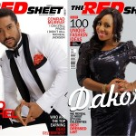 Majid Michel & Dakore Cover Issue 13 of Red Sheet Magazine