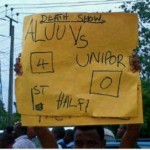 University Of Port-Harcourt Shut Down As Students Set Omuokiri-Aluu On Fire