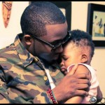 Photo: Ice Prince & Son, Jamaal